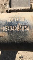 Рессора передняя на грузовик МАН ТГМ б/у оригинал  Оригинальные номера MAN - 85434026034; 85434026049