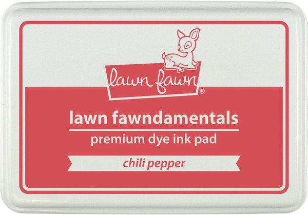 Штемпельная подушечка lawn fawn - chili pepper