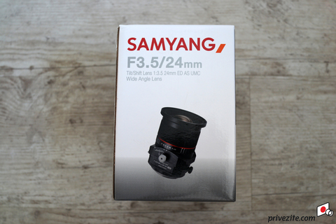 Объектив Samyang T-S 24mm f/3.5 ED AS UMC Black для Fujifilm X