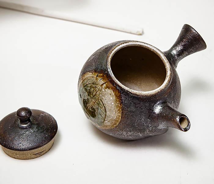 POT102 Чайник ручной работы в японском стиле («Kюсу») фото 07