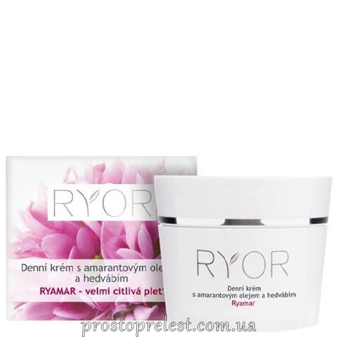 Ryor Ryamar Day Cream - Денний крем з амарантовою олією і протеїнами шовку