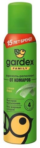 Аэрозоль-репеллент от комаров Gardex Family 150мл