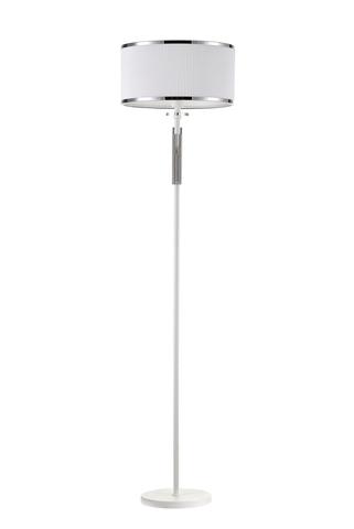 Напольный светильник Escada 10156/L E27*60W Matt white/Chrome