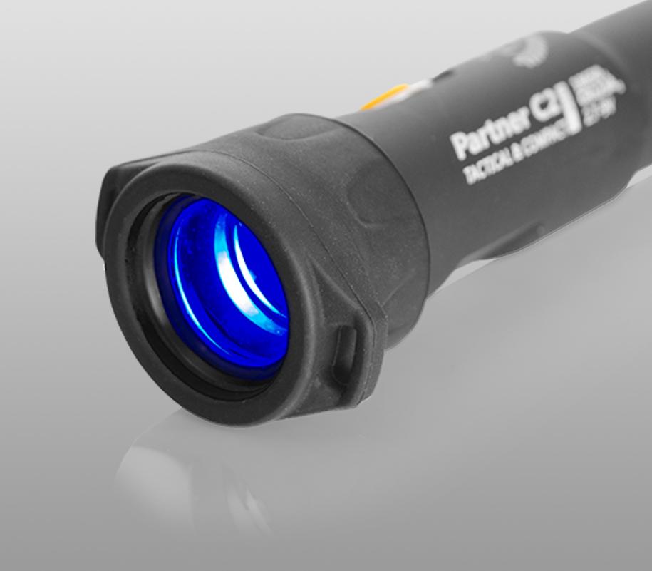 Синий фильтр Armytek для фонарей Prime/Partner - фото 3