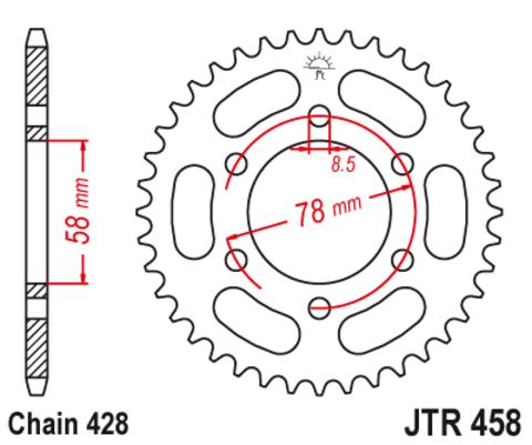 JTR458