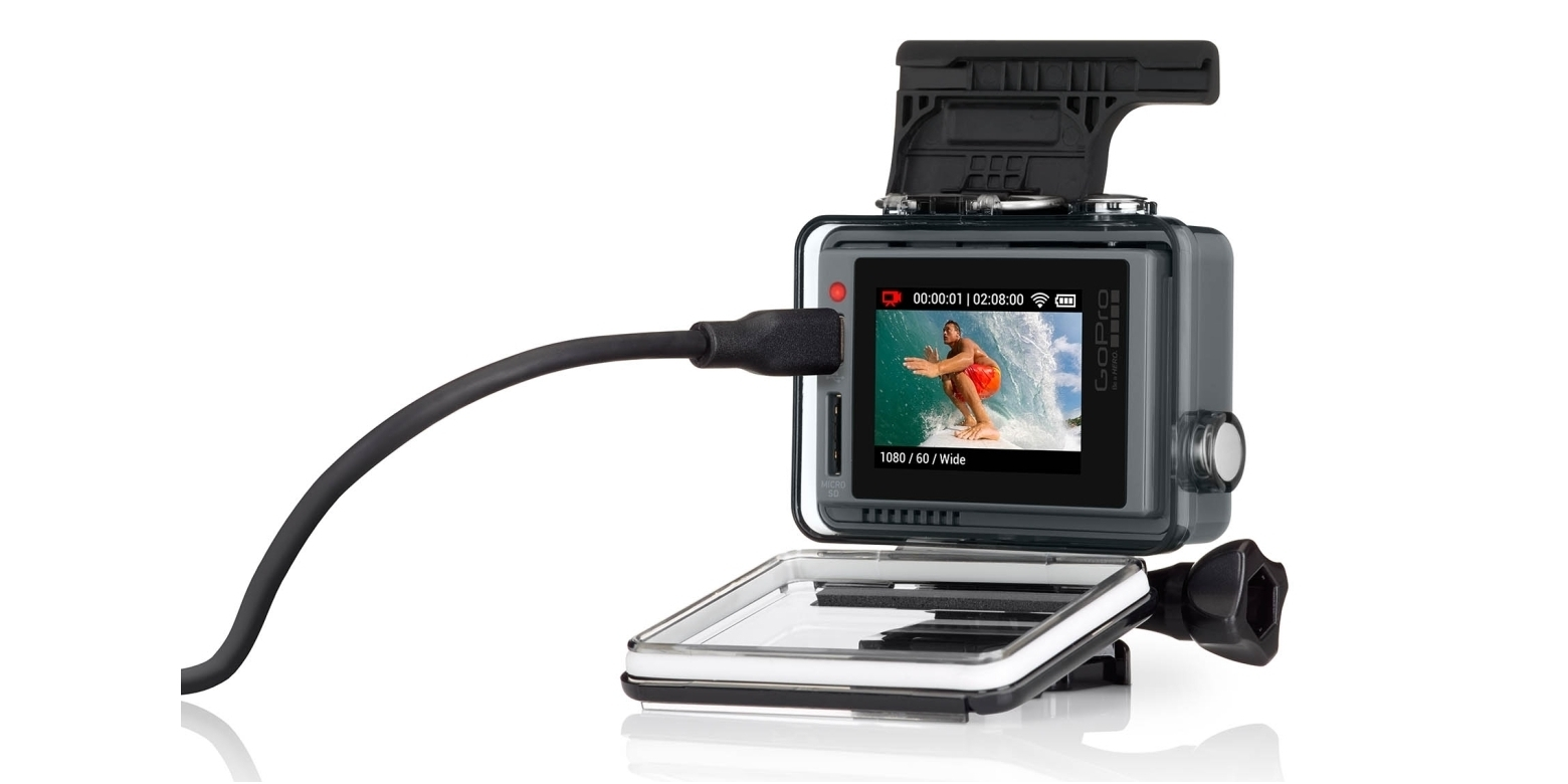 Кабель Micro USB для зарядки камеры GoPro