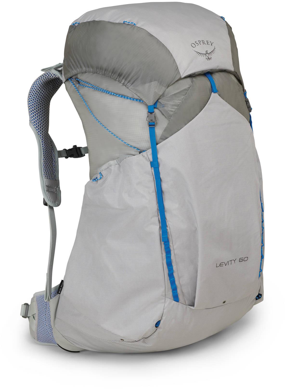 Туристические рюкзаки Рюкзак туристический Osprey Levity 60 Parallax Silver (2019) Levity60_S18_Side_ParallaxSilver_web.jpg