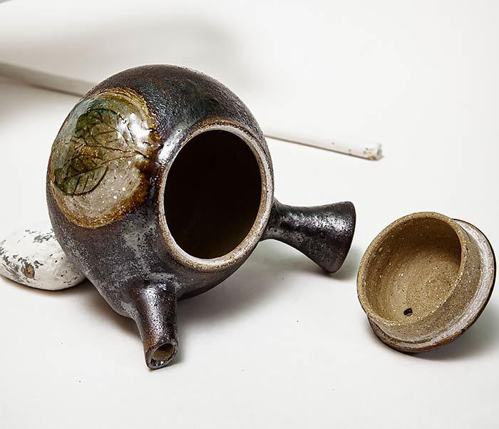 POT102 Чайник ручной работы в японском стиле («Kюсу») фото 08