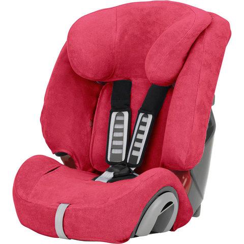 Romer Летний чехол для автокресла Evolva 123 Plus, розовый