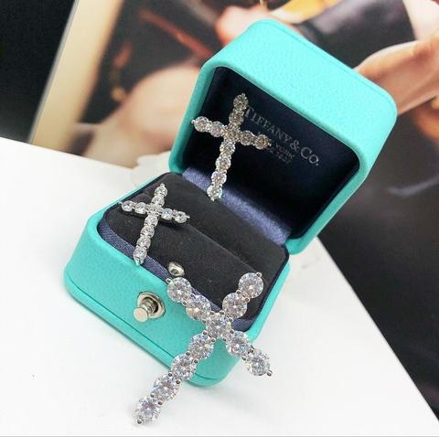 Крестик Tiffany Diamonds