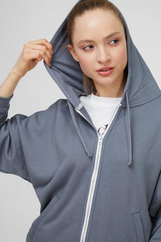 Женское серое худи Calvin Klein