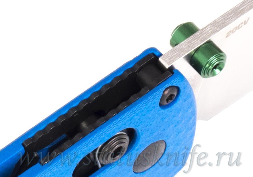 Нож Benchmade CU535-SS-20CV-G10-BLU Bugout - фотография