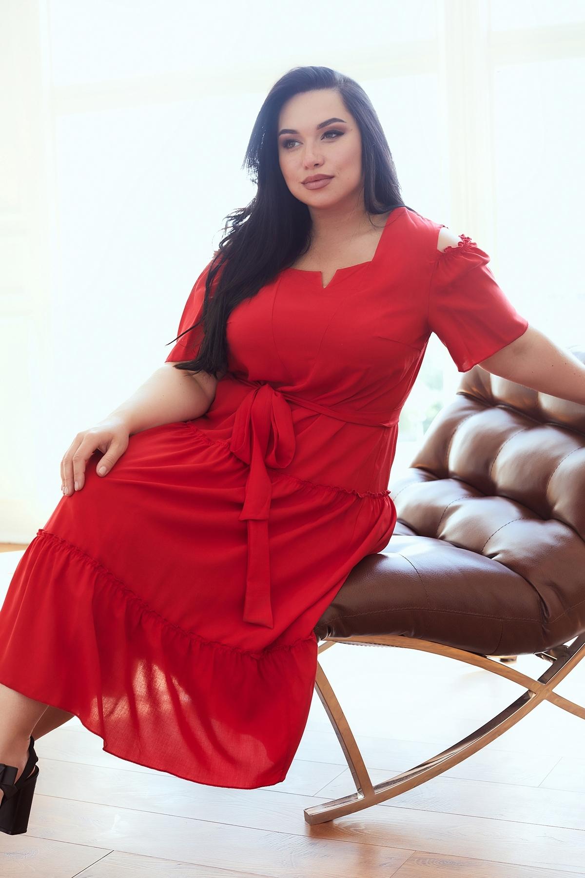 Сукня Люсьєна (червоний)
