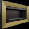 Встраиваемый в стену Биокамин Kratki Charlie  (золотой)
