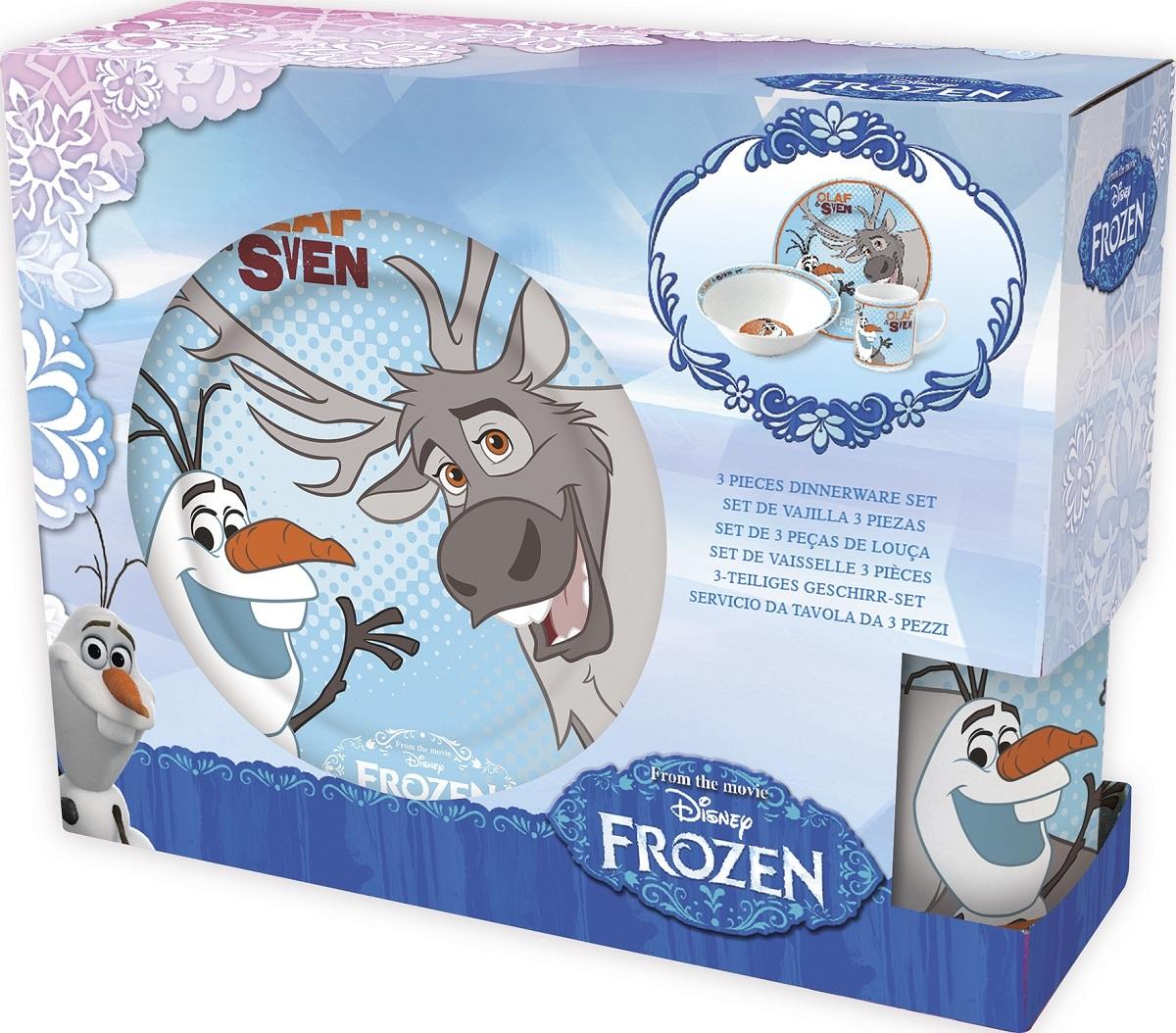 Холодное сердце Свен Набор керамической посуды — Posuda Frozen