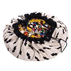 Коврик-мешок для игрушек (2 в 1) Play&Go Print МИСТЕР МУСТАШ 79965