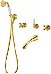 Смеситель Migliore Princeton Plus ML.PRP-8018.DO для ванны/душа - золото