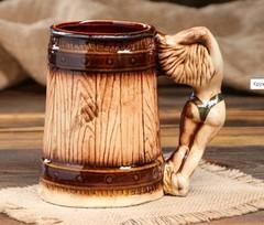 Пивная кружка «Девушка», 500 мл, фото 2