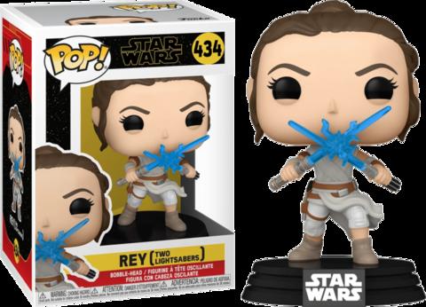 Фигурка Funko Pop! Star Wars: The Rise Of Skywalker - Rey (Two Lightsabers)
