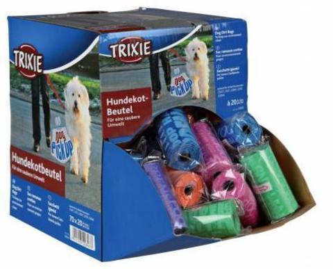 купить коробку TRIXIE Пакеты для уборки за собаками 70 рулонов по 20 шт