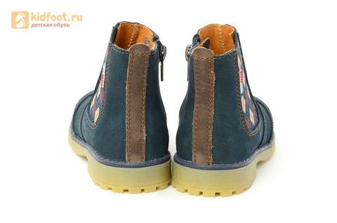 Ботинки Лель (LEL) для мальчика, цвет Темно синий, 3-1040. Изображение 8 из 16.