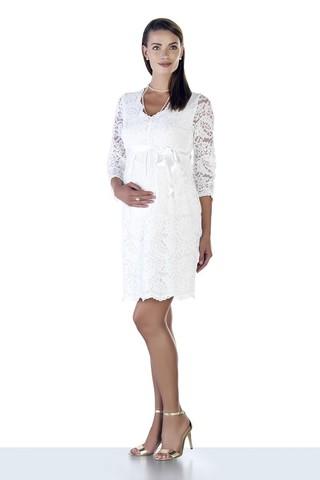 Платье для беременных 09028 белый