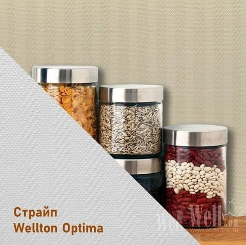Стеклообои Wellton Optima WO300 Страйп