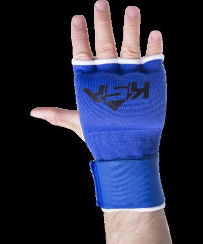 Внутренние перчатки для бокса Cobra Blue, L