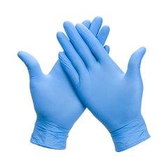 Перчатки нитриловые Wally Plastic М (100шт)