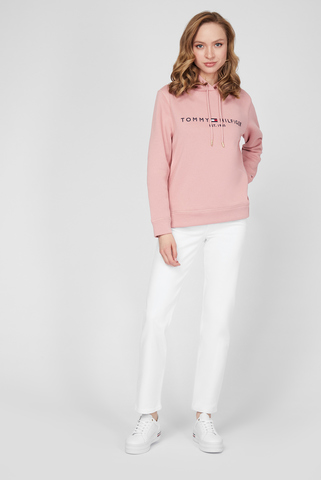 Женские белые джинсы NEW CLASSIC STRAIGHT HW A CLR Tommy Hilfiger