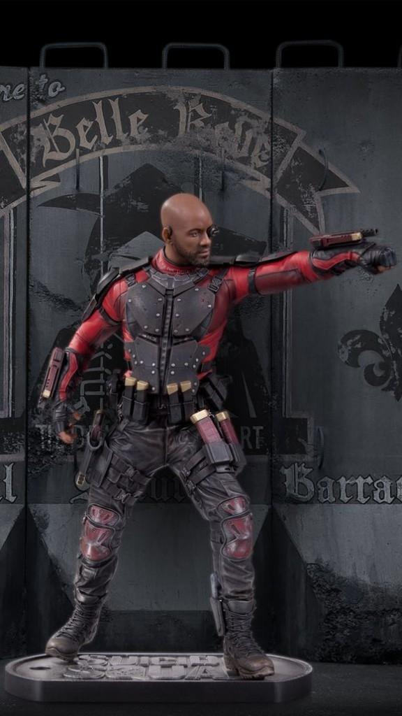 Статуэтка Отряд самоубийц Дэдшот — Suicide Squad Deadshot Statue