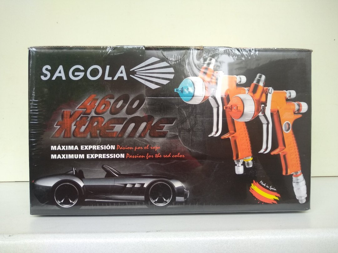 Краскопульт Sagola 4600 Xtreme  с воздушной головкой AQUA
