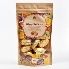 Конфеты фруктовые, Сибирский Кедр, Фрутодень в шоколаде, крафт-пакет, 200 г