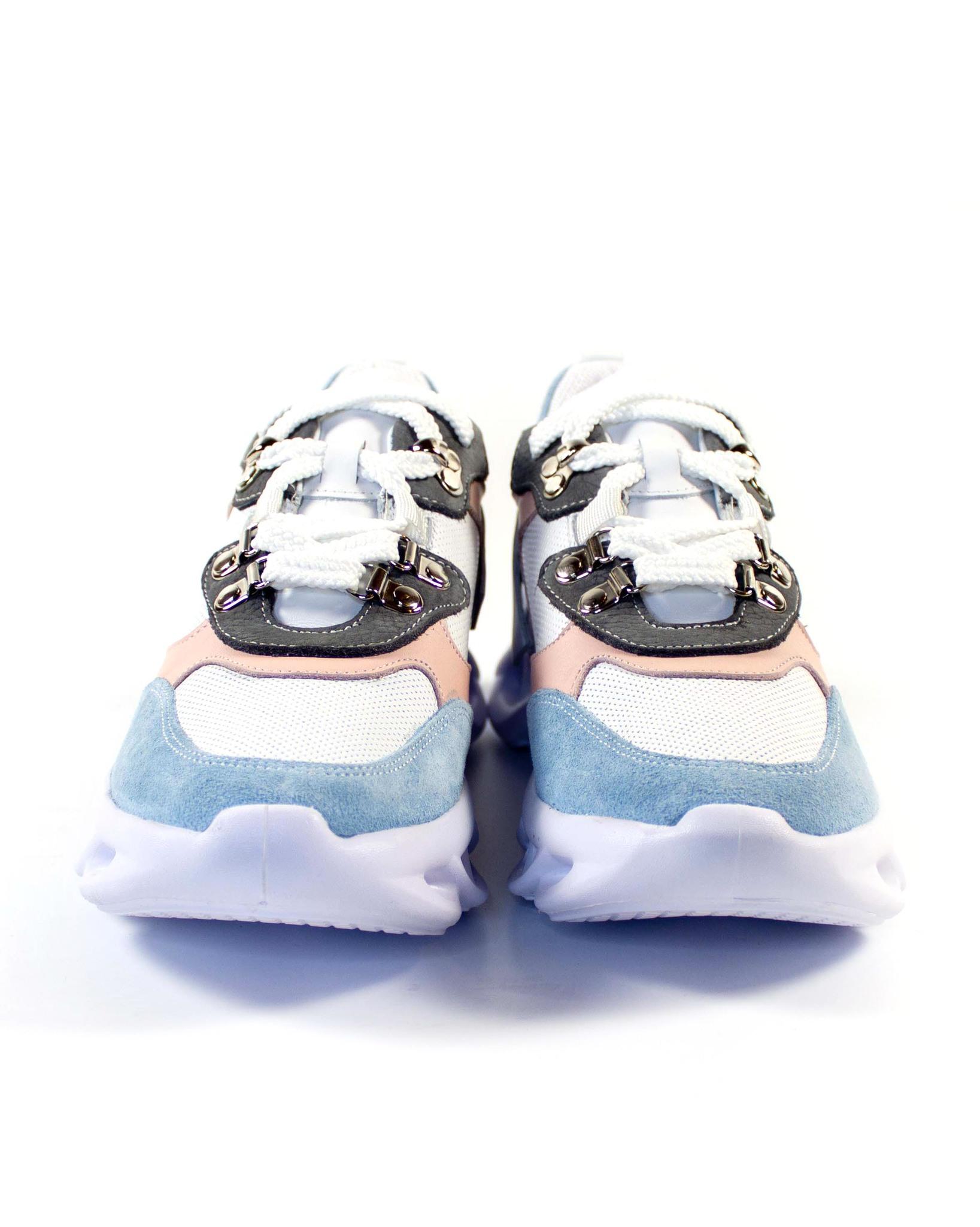 голубые кроссовки Alpino