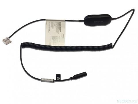 Jabra шнур-переходник с RJ9 на 3,5мм jack для подключения гарнитуры серии Evolve (30 II, 40, 80) к стационарному телефону