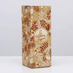 Коробка складная «Новогодний», 12 х 33,6 х 12 см, 1 шт.