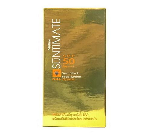 Крем-лосьон солнцезащитный для лица тройного действия Suntimate Mistine, 40 гр.