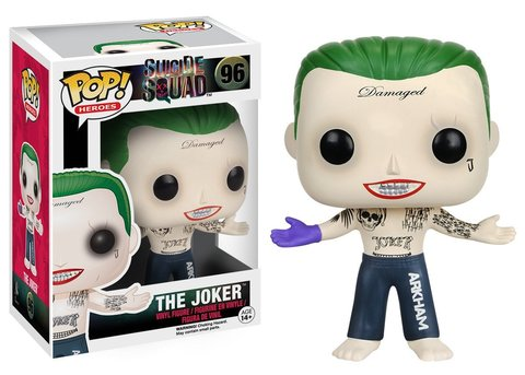 Фигурка Funko POP! Vinyl: Suicide Squad: Joker Shirtless 8659