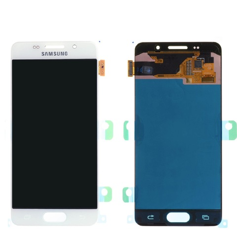 LCD SAMSUNG A3 2016 A310F + Touch White Orig MOQ:5