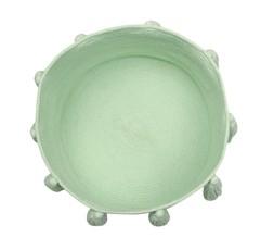 Корзина Lorena Canals Tassels Soft Mint (30 x Ø45 см)