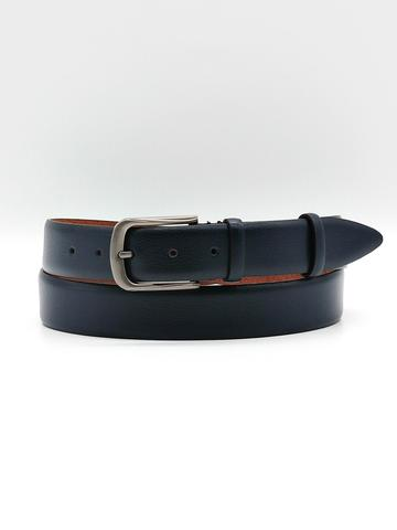Ремень для брюк тёмно-синий Doublecity RC35-25-22