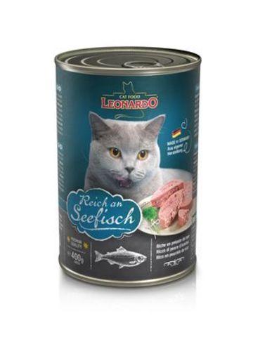 ЛЕОНАРДО кон.д/кошек Мясо с рыбой 400гр*24