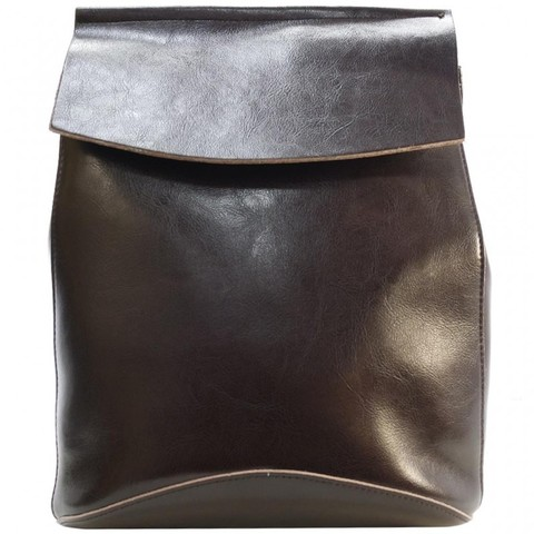 Женский коричневый рюкзак из кожи 2191