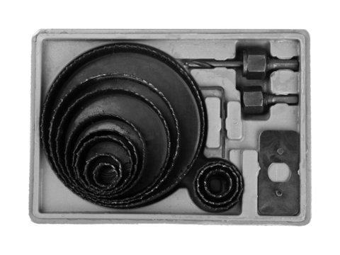 STAYER Maxcut 12 шт, набор кольцевых коронок по дереву 19-127мм