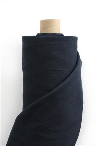 Черно-синий, лен постельный,260
