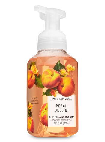 Мыло для рук Bath&BodyWorks Peach Bellini Gentle foaming Hand Soap 259 ml
