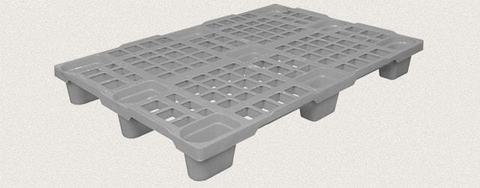 Поддон пластиковый перфорированный 1200x800x150 мм. Цвет: Серый