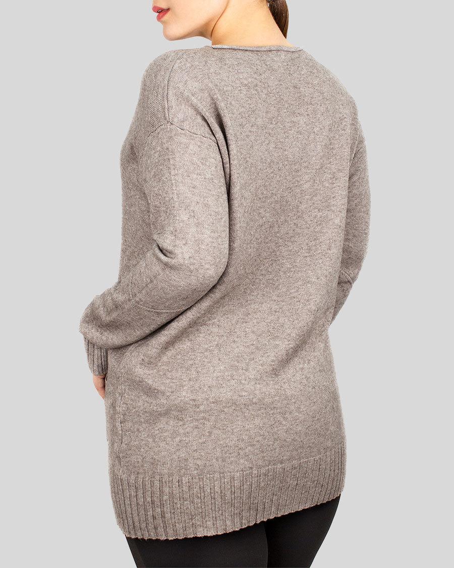 Кофта женская с карманами
