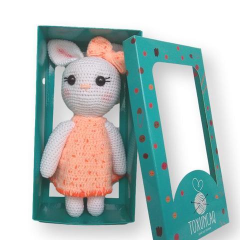 Yumşaq oyuncaq Narıncı donlu dovşan TXQ-131