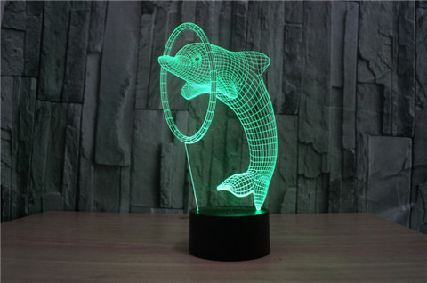 Лампа Дельфин и кольцо